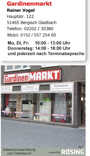 Gardinenmarkt Bergisch Gladbach